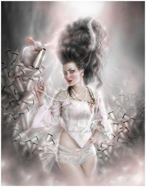 Dames mysterieuses page 2 for Miroir o miroir dis moi qui est la plus belle